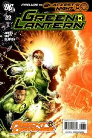 Green Lantern #39 Retail Variant 1:25 Blackest Night (2009) DC comic book